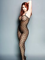 sexy babes posing in beatifull nylon bodystockings lingerig